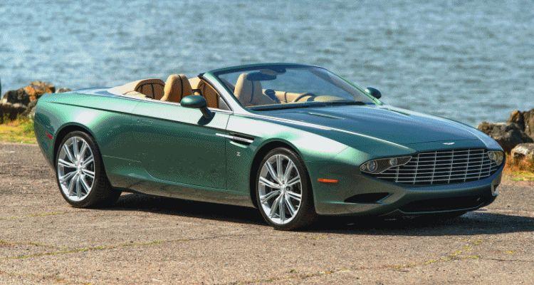 2013 Aston Martin ZAGATO DB9 Centennial Spyder