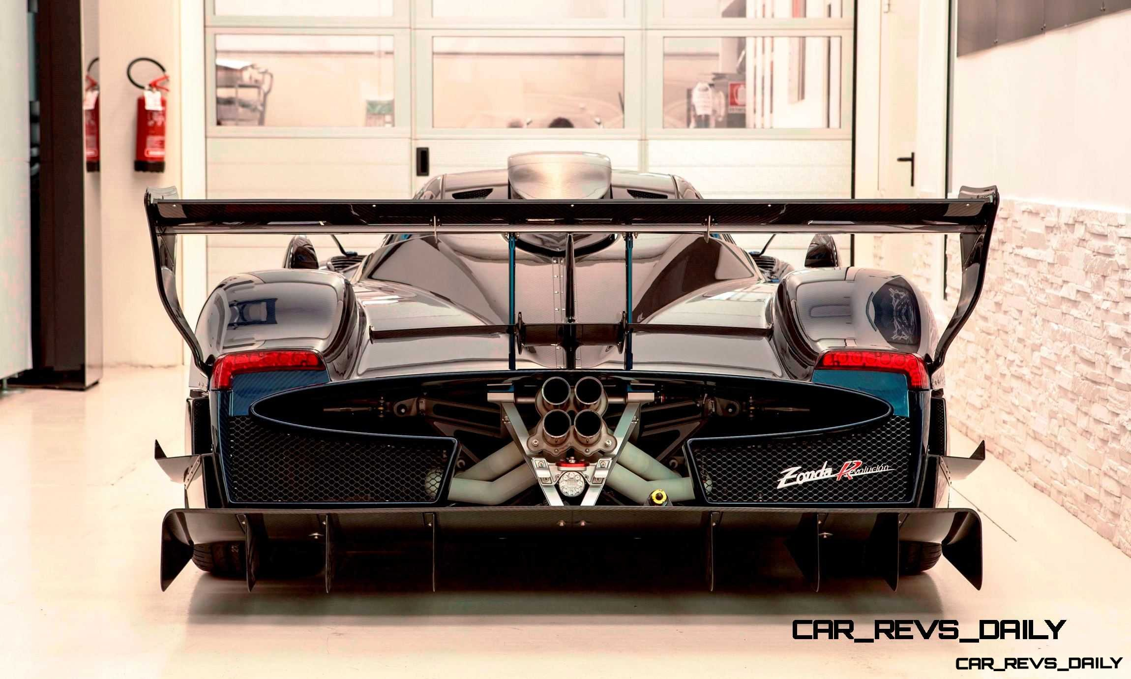 2014 Pagani Zonda Revolucion Adds DRS Dynamic Downforce + 50HP for Ultimate Time-Attack Prowess