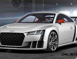 600HP, 3.6s 2015 Audi TT Clubsport Turbo Concept Runs 48V E-Compressor