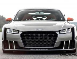 2015 Audi TT Clubsport Turbo – Sounds Freaky as Electric Boost Spools Up to Ultra-High RPM