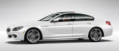 2015 BMW 640i GranCoupe xDrive Alpine White M Sport 11