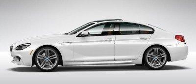 2015 BMW 640i GranCoupe xDrive Alpine White M Sport 12