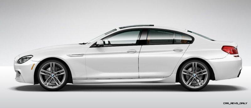 2015 BMW 640i GranCoupe xDrive Alpine White M Sport 13