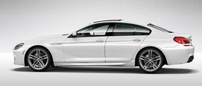 2015 BMW 640i GranCoupe xDrive Alpine White M Sport 14