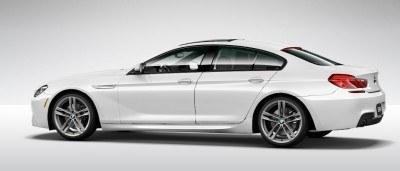 2015 BMW 640i GranCoupe xDrive Alpine White M Sport 15