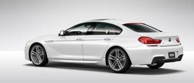 2015 BMW 640i GranCoupe xDrive Alpine White M Sport 17