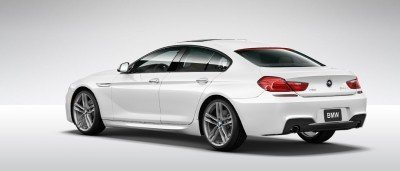 2015 BMW 640i GranCoupe xDrive Alpine White M Sport 18