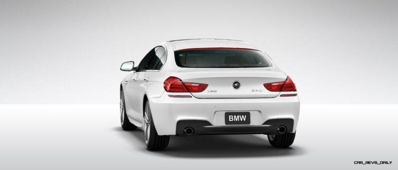 2015 BMW 640i GranCoupe xDrive Alpine White M Sport 21