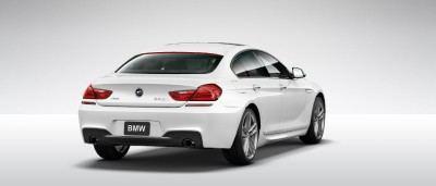 2015 BMW 640i GranCoupe xDrive Alpine White M Sport 24