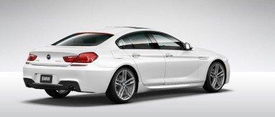 2015 BMW 640i GranCoupe xDrive Alpine White M Sport 26