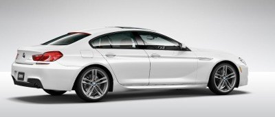 2015 BMW 640i GranCoupe xDrive Alpine White M Sport 28