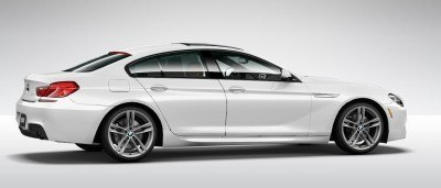 2015 BMW 640i GranCoupe xDrive Alpine White M Sport 29