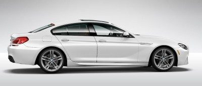 2015 BMW 640i GranCoupe xDrive Alpine White M Sport 30