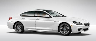 2015 BMW 640i GranCoupe xDrive Alpine White M Sport 34