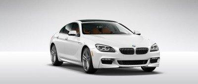 2015 BMW 640i GranCoupe xDrive Alpine White M Sport 38