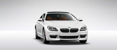 2015 BMW 640i GranCoupe xDrive Alpine White M Sport 39