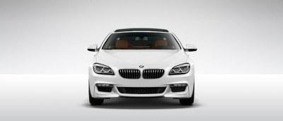 2015 BMW 640i GranCoupe xDrive Alpine White M Sport 4
