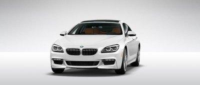2015 BMW 640i GranCoupe xDrive Alpine White M Sport 5