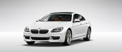 2015 BMW 640i GranCoupe xDrive Alpine White M Sport 6