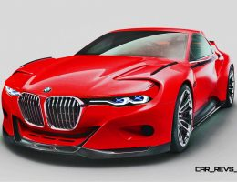 Shock M6 Concept!  2015 BMW 3.0 CSL Hommage – Design Analysis + Rendered Colorizer