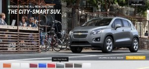 2015 Chevrolet Trax Colors and Wheels 11