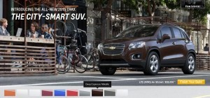 2015 Chevrolet Trax Colors and Wheels 12