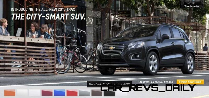 2015 Chevrolet Trax Colors and Wheels 13