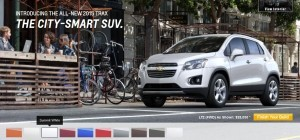 2015 Chevrolet Trax Colors and Wheels 6