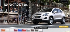 2015 Chevrolet Trax Colors and Wheels 7