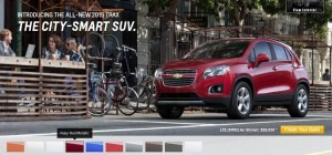 2015 Chevrolet Trax Colors and Wheels 8
