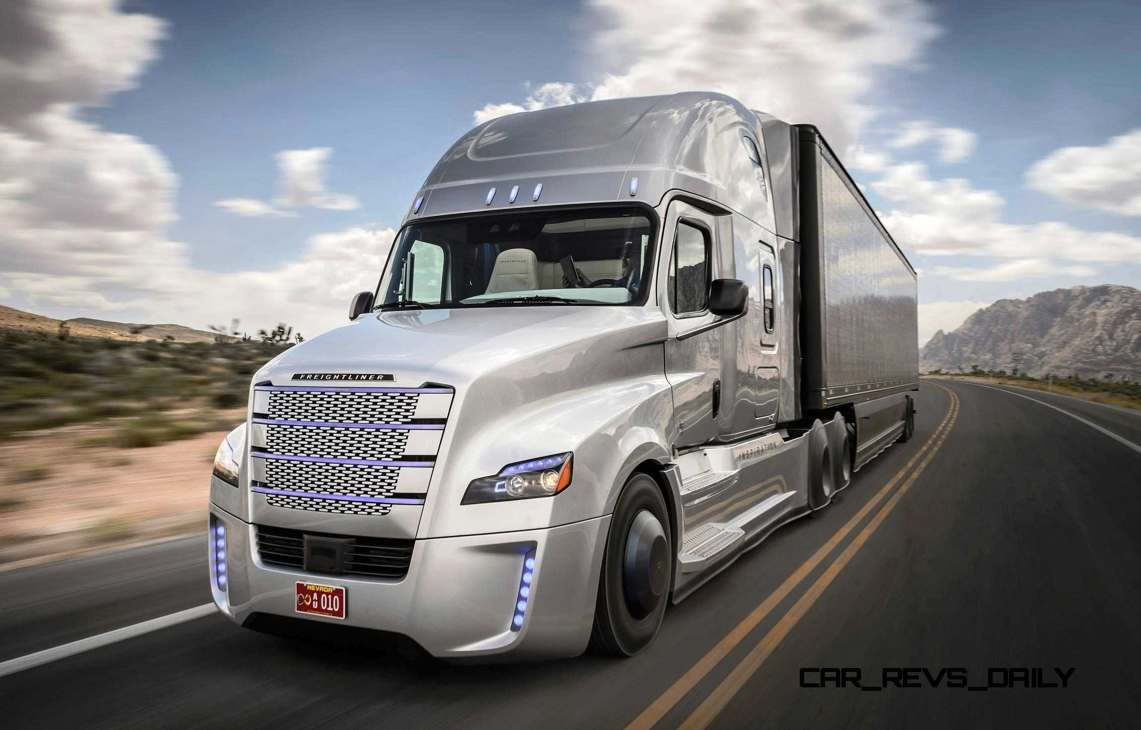 2015 freightliner inspiration truck concept. Black Bedroom Furniture Sets. Home Design Ideas