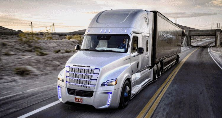 2015 Freightliner Inspiration Truck Concept