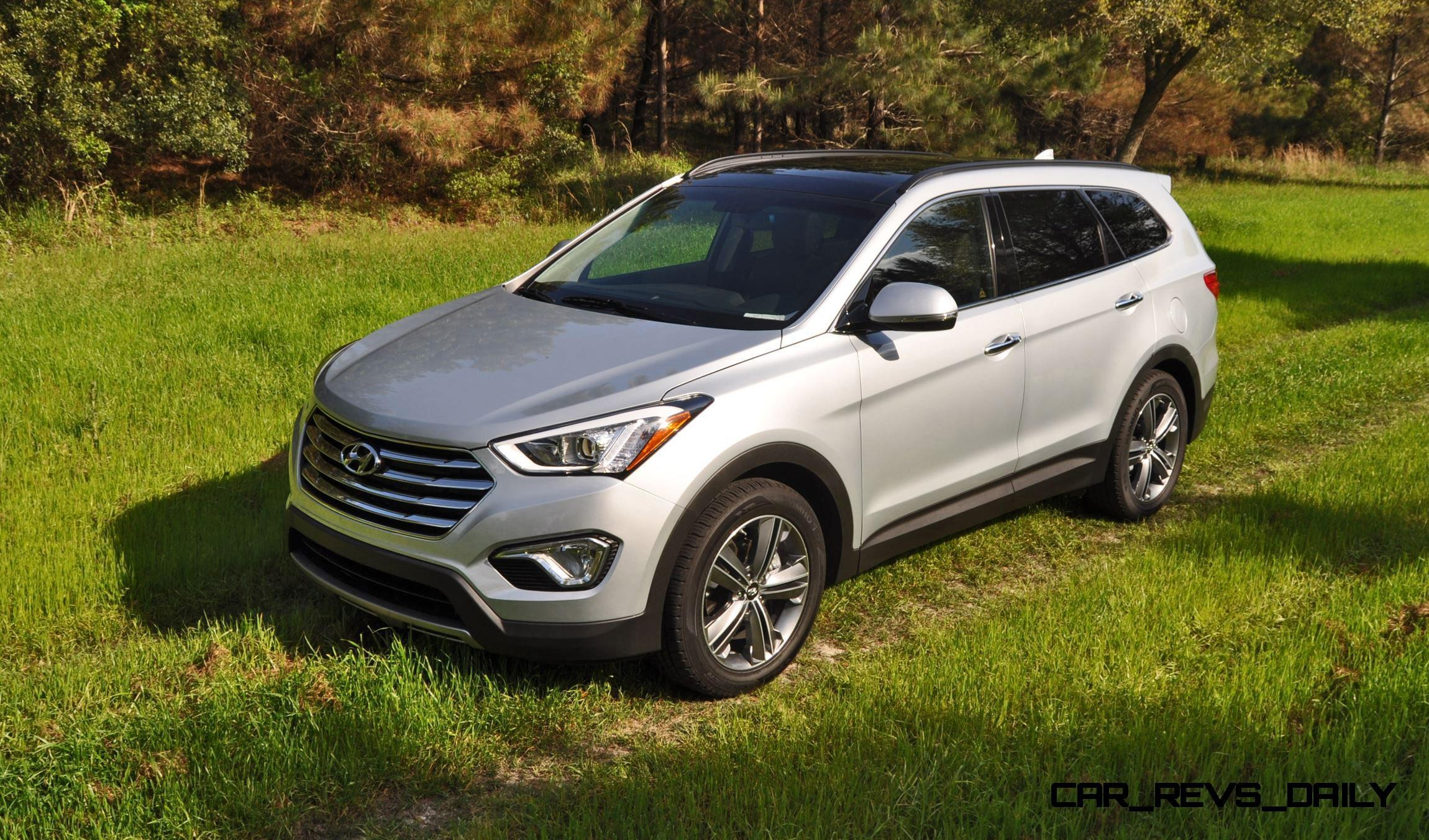 road test review 2015 hyundai santa fe limited awd with ken. Black Bedroom Furniture Sets. Home Design Ideas