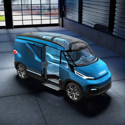 2015 IVECO Vision Concept Van 12