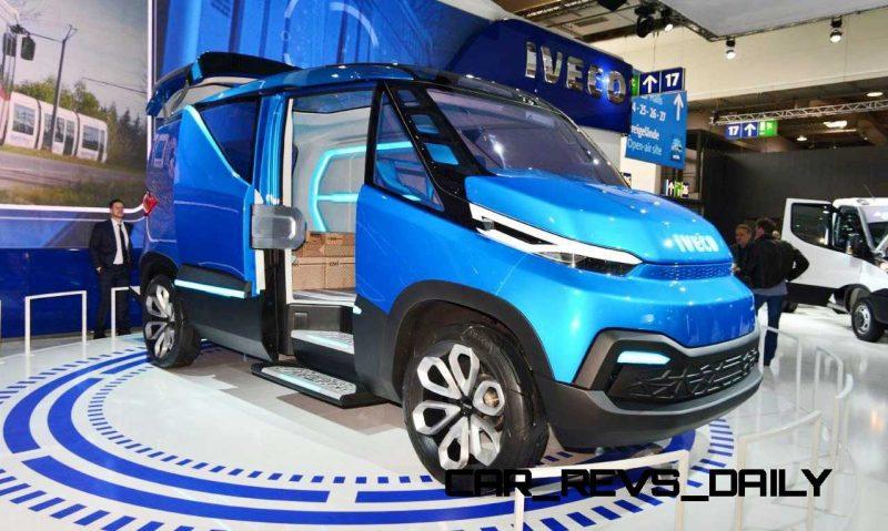 2015 IVECO Vision Concept Van 21