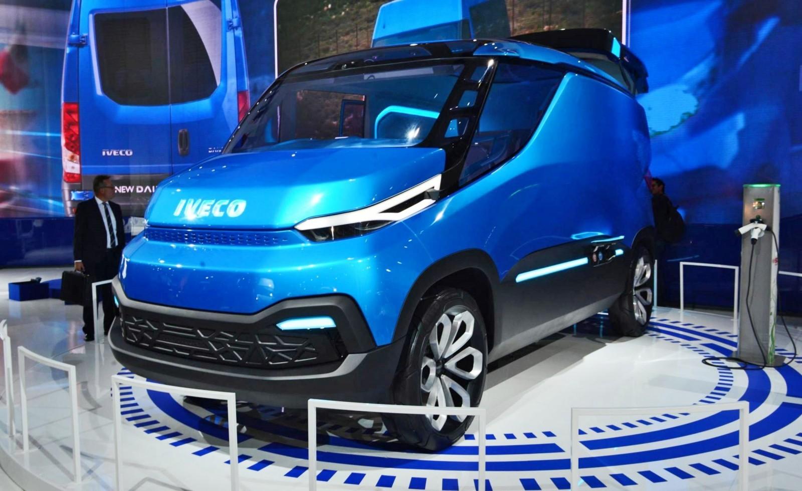 2015 IVECO Vision Concept Van 24
