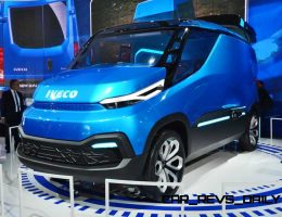 2015 IVECO Vision PHEV Concept Shows Futuristic Design + Cabin Tech Innovations
