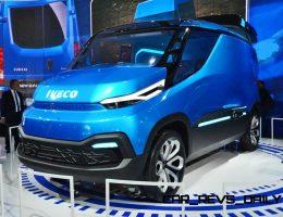 2015 IVECO Vision PHEV Concept Shows Futuristic Design + Cabin Tech Innovations