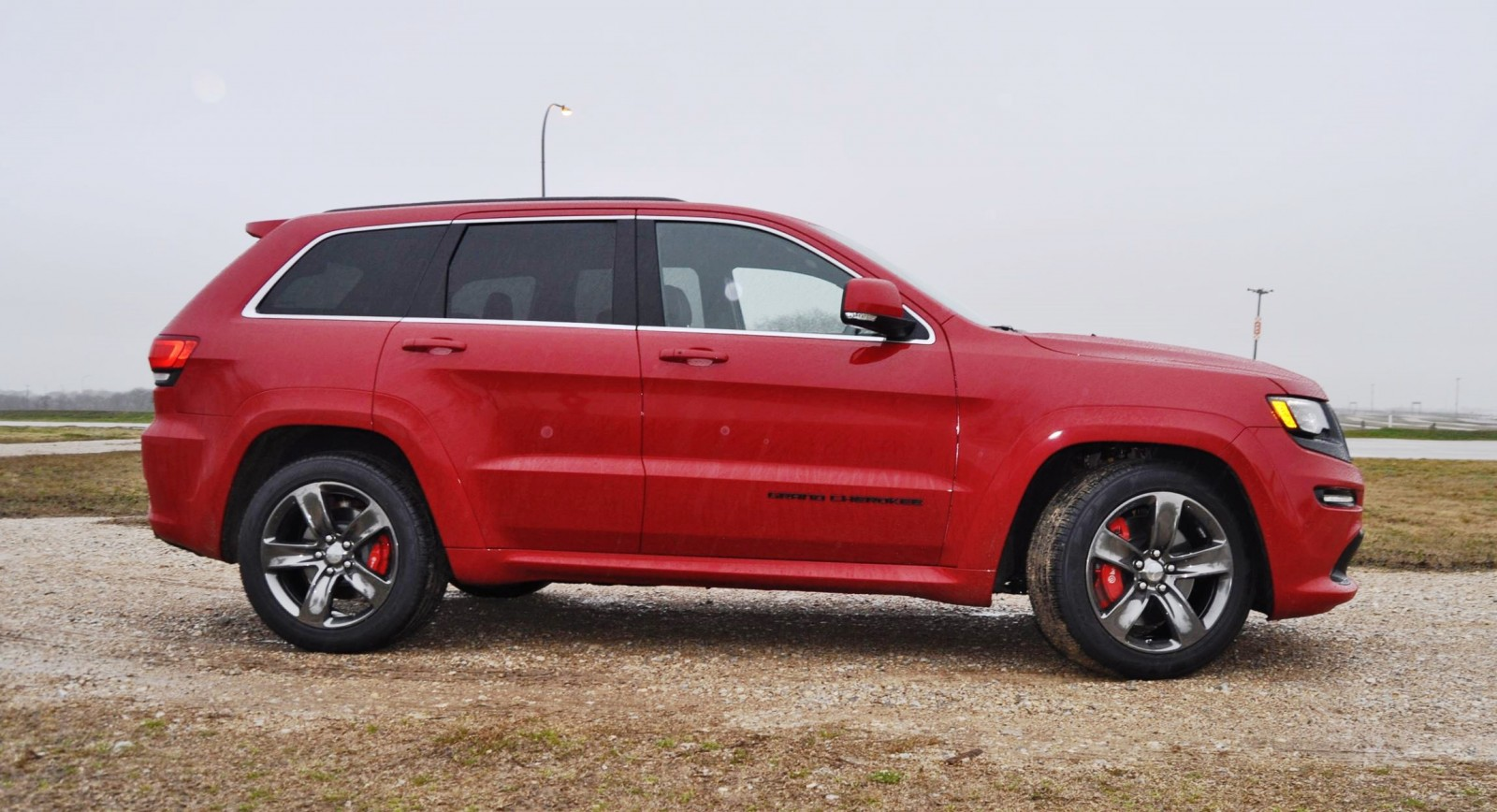 Rainy First Drive Review - 2015 Jeep Grand Cherokee SRT on ...