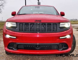 Rainy First Drive Review - 2015 Jeep Grand Cherokee SRT on HD Video!