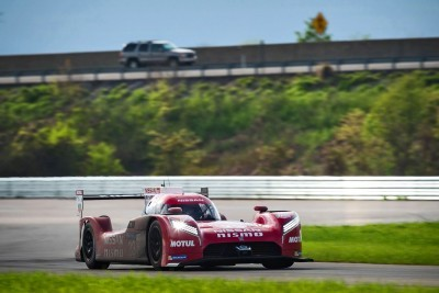 Nissan LM P1 Team testing in Bowling Green, Kentucky