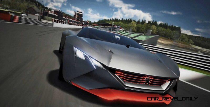 2015 Peugeot Vision Gran Turismo 10