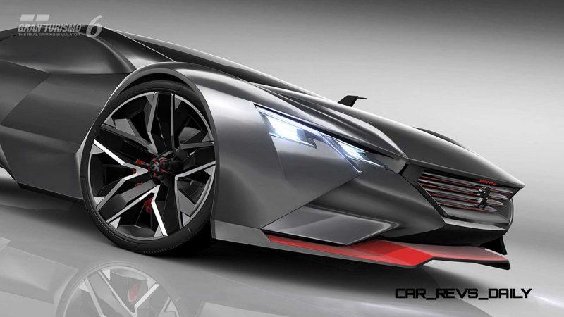 2015 Peugeot Vision Gran Turismo 14