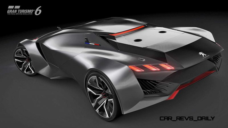 2015 Peugeot Vision Gran Turismo 24