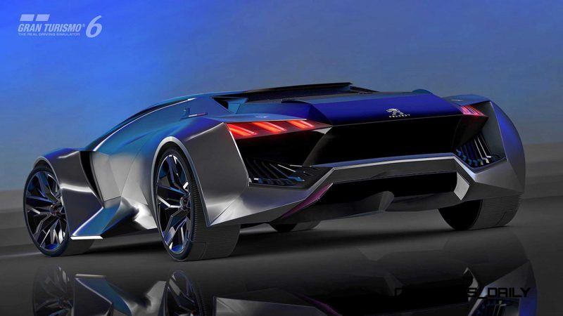 2015 Peugeot Vision Gran Turismo 25