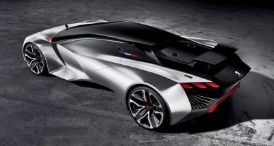 2015 Peugeot Vision Gran Turismo 70