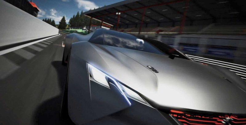 2015 Peugeot Vision Gran Turismo 8