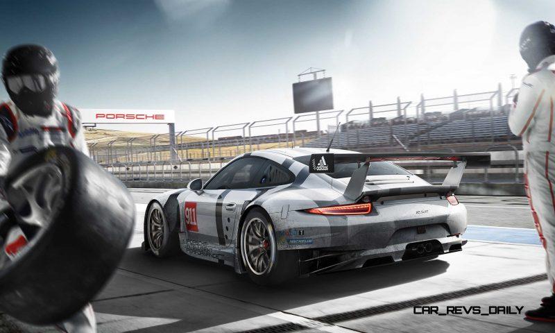 2015 Porsche 911 RSR 3