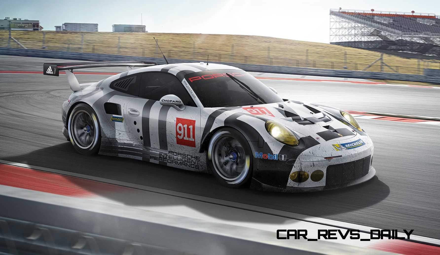2015 Porsche 911 Rsr 6