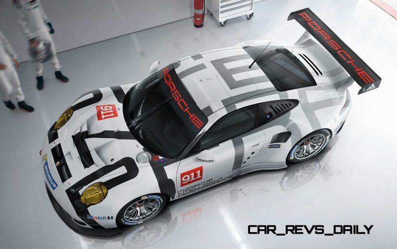 2015 Porsche 911 RSR 8